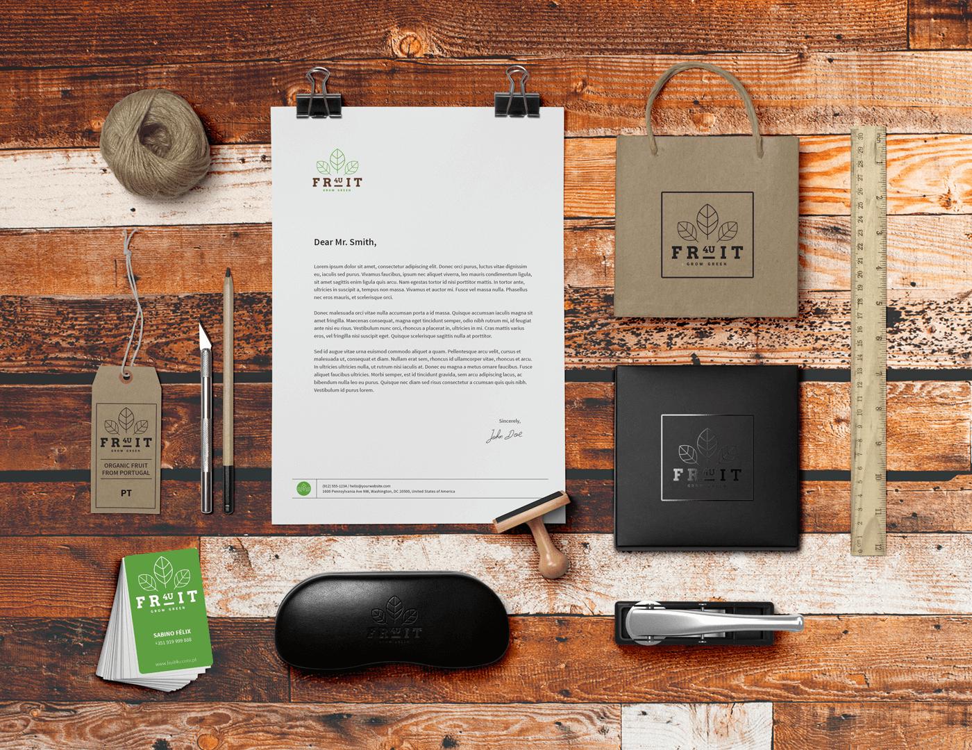 JA Design Studio Fruit4U Mockup
